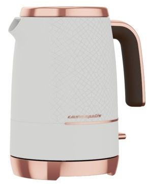 BEKO Cosmopolis 1.7L Retro Jug Kettle White & Rose Gold 3kw WKM8306W