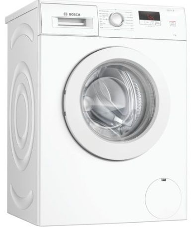 BOSCH Serie 2 Washing Machine 7kg Load 1400 Spin White WAJ28008GB