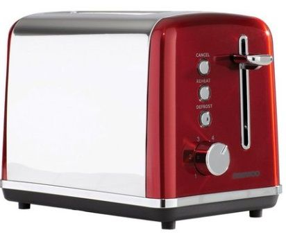 DAEWOO Kensington 2 Slice Toaster Red