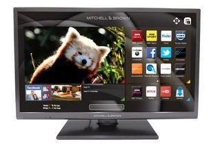 MITCHELL & BROWN 43'' LED Smart Television with Built-in DVD Player and Freeview Play JB431811FSMDVD