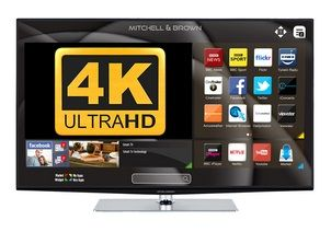 MITCHELL & BROWN 55'' LED 4K Smart Television with Freeview Play JB-551811FSM4K