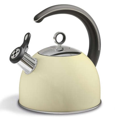 MORPHY RICHARDS Accents Cream Stove Kettle 2.5L 46502