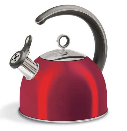 MORPHY RICHARDS Accents Red Stove Kettle 2.5L 46501