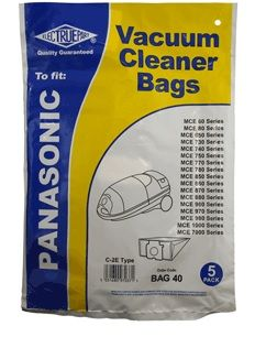 PANASONIC Vacuum Cleaner Dust Bags Type C-2E 5pk COPY