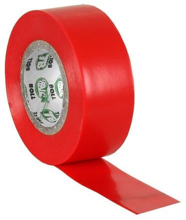 STATUS Electrical Insulation Tape Roll Red 10m