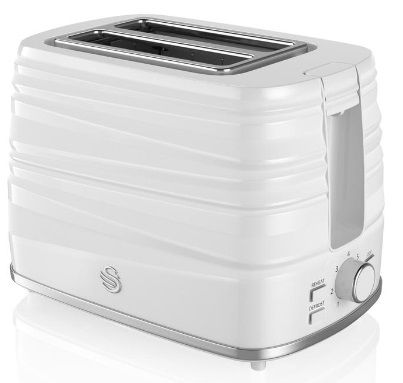 SWAN Symphony 2 Slice Toaster White ST31050WN